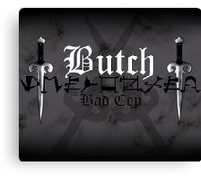 Butch - [ the Black Dagger Brotherhood ] Canvas Print