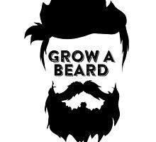 GROW A BEARD THEN WE'LL TALK by badassarts