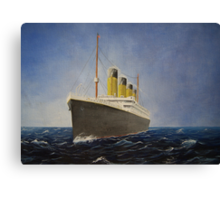 RMS Titanic  Canvas Print