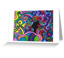 Happy thoughts, words, and sights Greeting Card