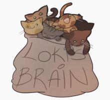 Loki's Brain Kids Tee