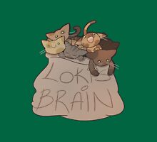 Loki's Brain Womens Fitted T-Shirt