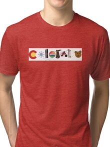Colorado Illustrations Tri-blend T-Shirt