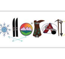 Colorado Illustrations Sticker