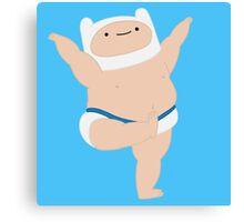 Tough Tootin' Baby Finn Canvas Print