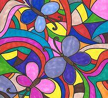 Butterflies by Deb Coats