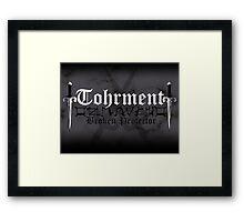 Tohrment - [ the Black Dagger Brotherhood ] Framed Print