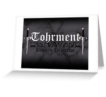 Tohrment - [ the Black Dagger Brotherhood ] Greeting Card