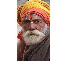 Faces of India 4 Photographic Print