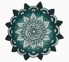 Mandala: Teal/Blue  by MRLdesigns