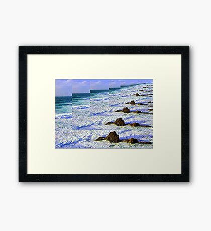 INFINITY SEA Framed Print
