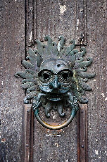 Sanctuary knocker by Jaime Pharr