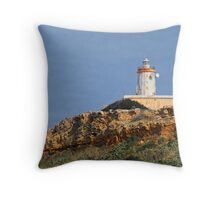 Ta' Ġurdan Lighthouse Throw Pillow