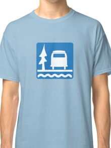 VW Bay Window Bus Camping Classic T-Shirt