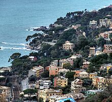 liguria coast by oreundici