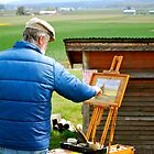 Painting the Tulip Fields... by Carol Clifford