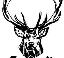 Jagdzeit Hirsch - Deer by RiMKO