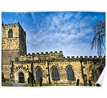 All Saints Church - Anglo Saxon Heritage Poster