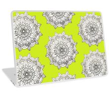 Mandala: White/Black  Laptop Skin