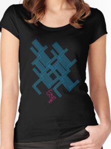 Isometric Tee Women's Fitted Scoop T-Shirt