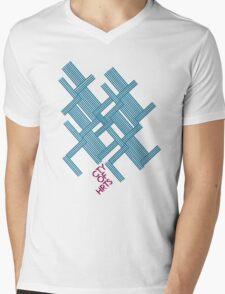 Isometric Tee Mens V-Neck T-Shirt