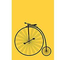 vintage bike Photographic Print