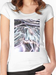 Solar Tide Women's Fitted Scoop T-Shirt