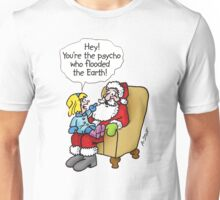 PSYCHO SANTA Unisex T-Shirt