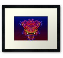 Reflection Abstract Framed Print