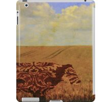 I am a vintage cow iPad Case/Skin