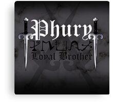 Phury - [ the Black Dagger Brotherhood ] Canvas Print