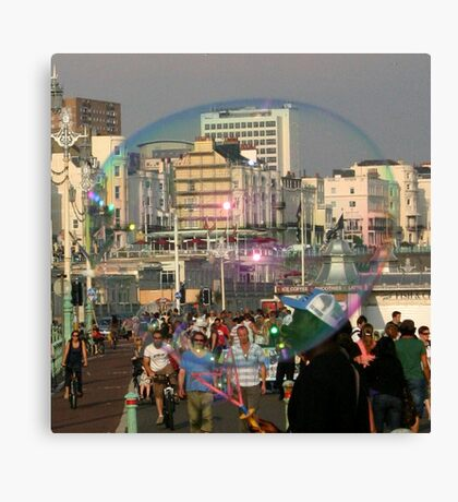 Living in a Bubble Canvas Print