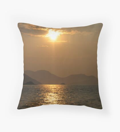 Sunset home Throw Pillow