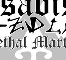 Zsadist - [ the Black Dagger Brotherhood ] Sticker