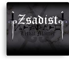 Zsadist - [ the Black Dagger Brotherhood ] Canvas Print