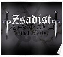 Zsadist - [ the Black Dagger Brotherhood ] Poster