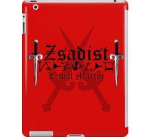 Zsadist - [ the Black Dagger Brotherhood ] iPad Case/Skin