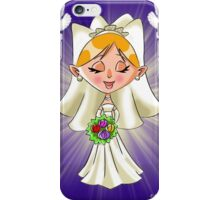 Wedding Bride and Doves iPhone Case/Skin