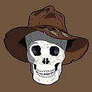 Cowboy Skull by FredzArt