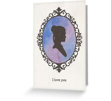 Princess Leah Cameo Greeting Card