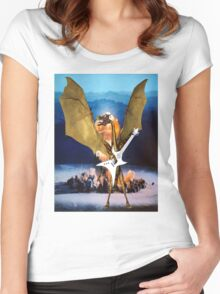 ATOMIC DRAGON Women's Fitted Scoop T-Shirt