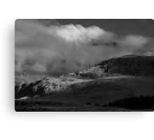 Snowdon Landscape Canvas Print