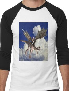 Music in the Clouds Men's Baseball ¾ T-Shirt
