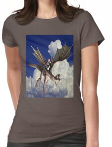 Music in the Clouds Womens Fitted T-Shirt