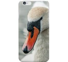 Mute Swan and Water Droplets iPhone Case/Skin