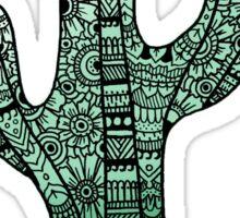 Cactus: Teal Sticker