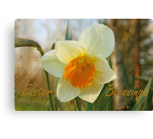 Easter Blessings Canvas Print
