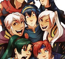 Fire Emblem Crew by Tiuana-Rui