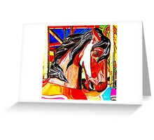 Carousel Colt Greeting Card
