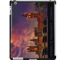 Houses of Parliament - London iPad Case/Skin